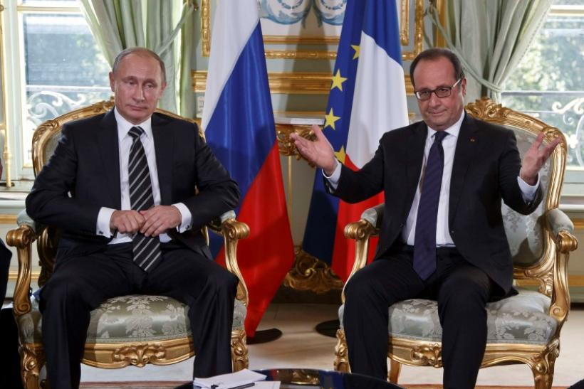 Putin Paris Talks