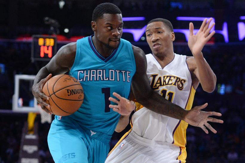 Stephenson with Hornets in 2014