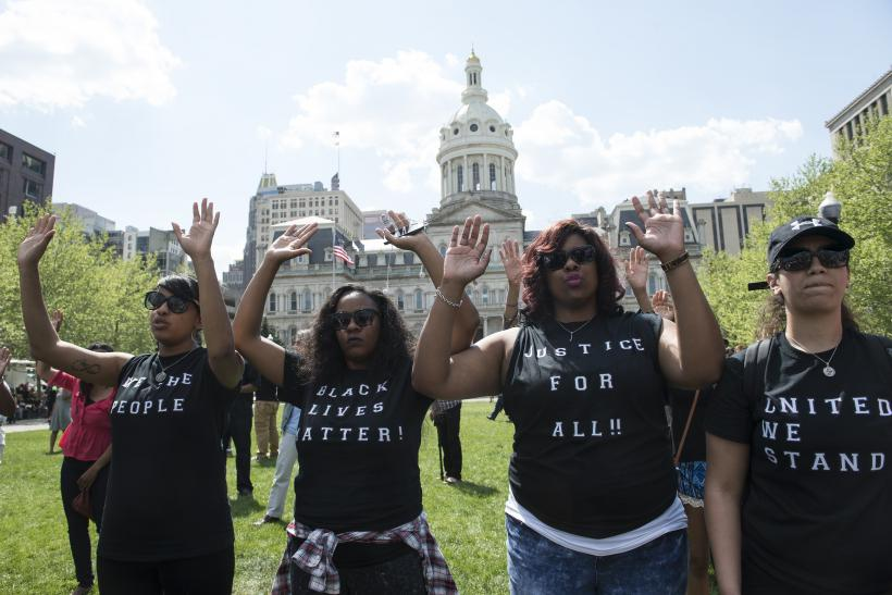 Baltimore City Hall protests arrests