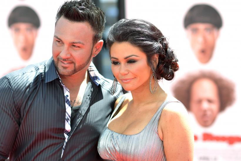 Jenni 'JWoww' Farley and Roger Matthews married pregnant