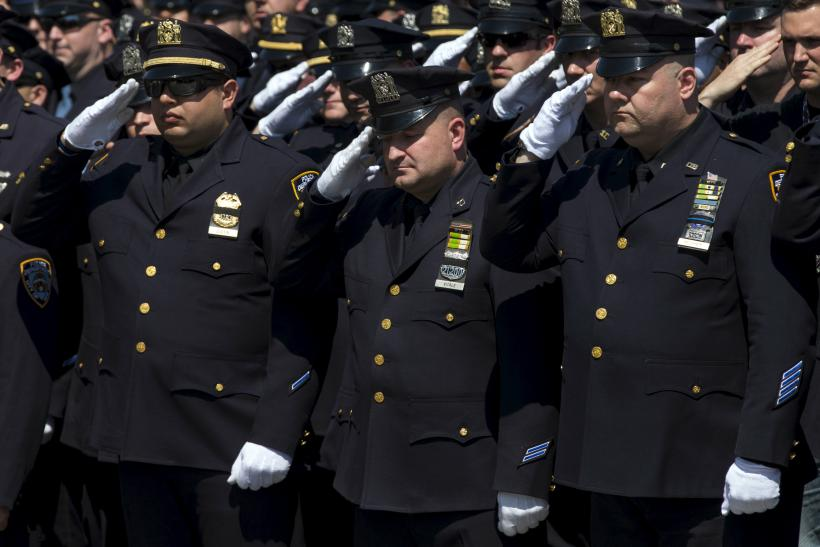 police line of duty deaths 2014