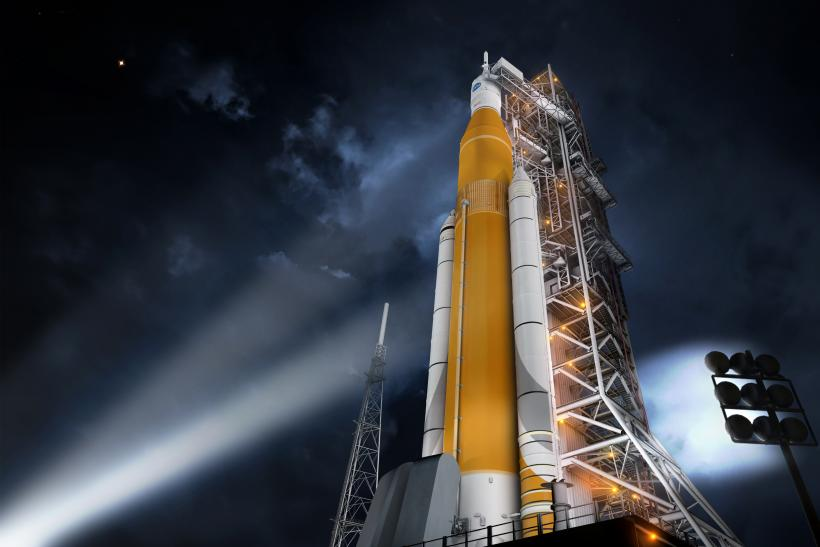 NASA SLS Launch