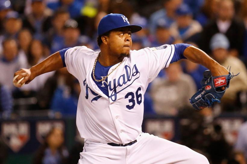 Edinson Volquez World Series