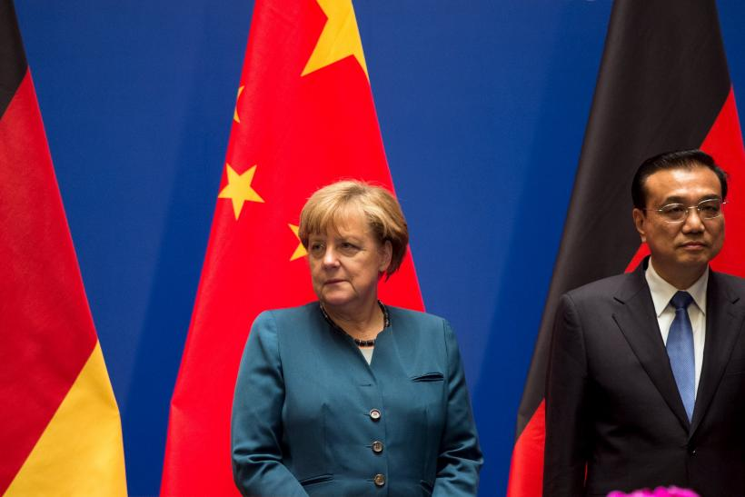 Angela Merkel and Li Keqiang, Oct. 30, 2015