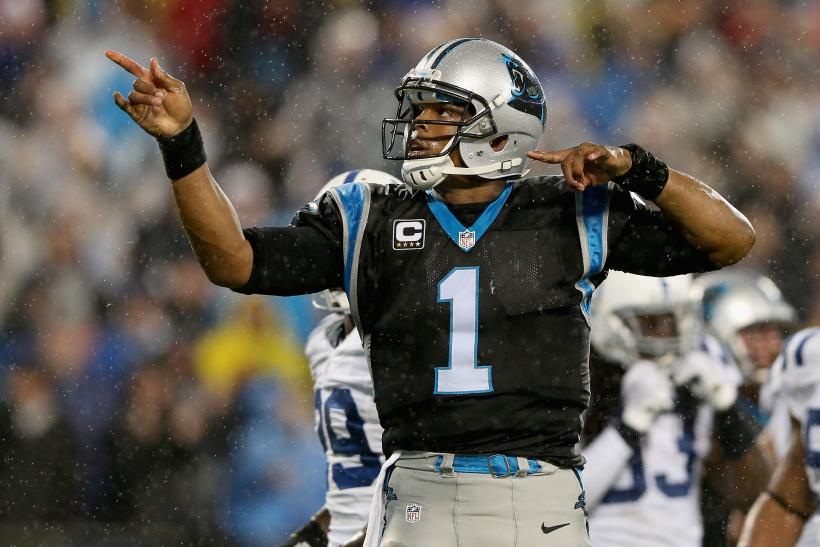 Cam Newton Panthers 2015