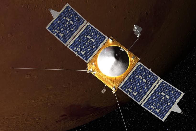 MAVEN Mars Atmosphere Loss