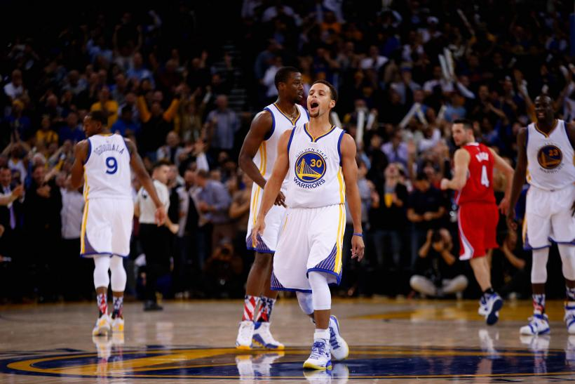 Stephen Curry Warriors 2015