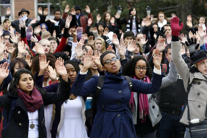 mizzou concerned students protest