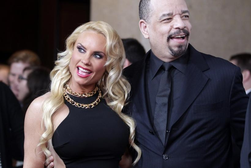 Coco (L) and husband Ice-T