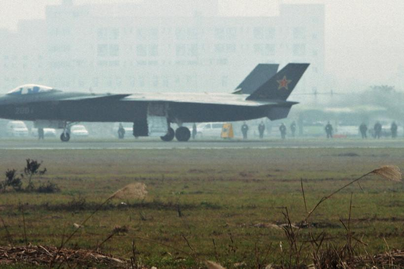 China's Chengdu J-20 Stealth Fighter