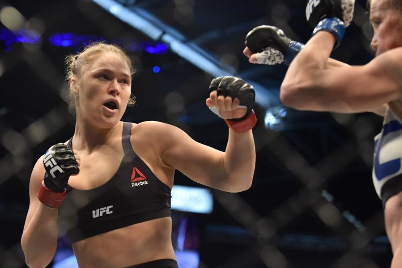 Ronda Rousey Holly Holm fight