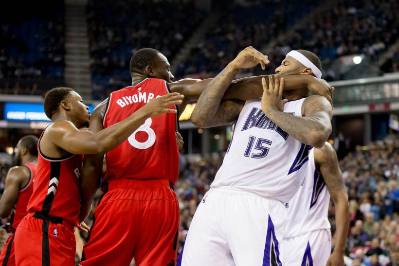 Cousins vs Raptors