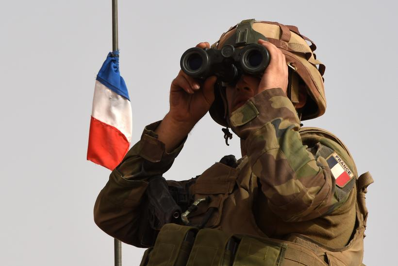 French soldier in Mali