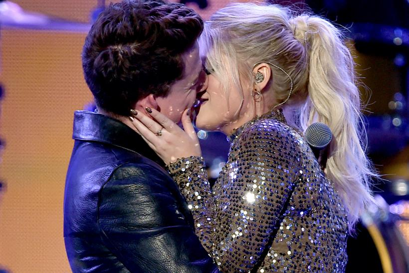 Charlie Puth Meghan Trainor make out