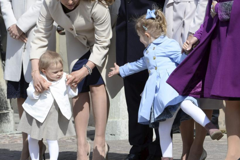 Princess Leonore, Princess Madeleine, Princess Estelle and Queen Silvia