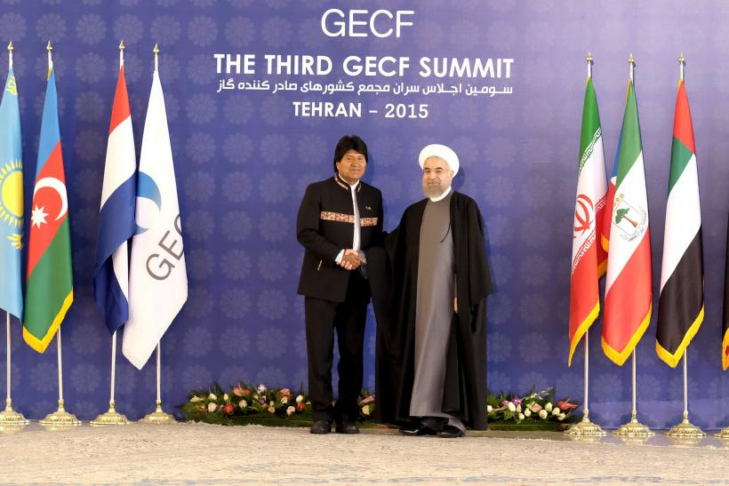Morales and Rouhani