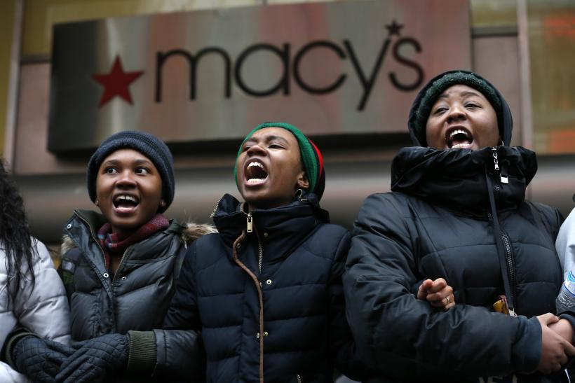 black buying power protest 2015
