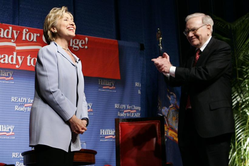 Clinton and Buffett