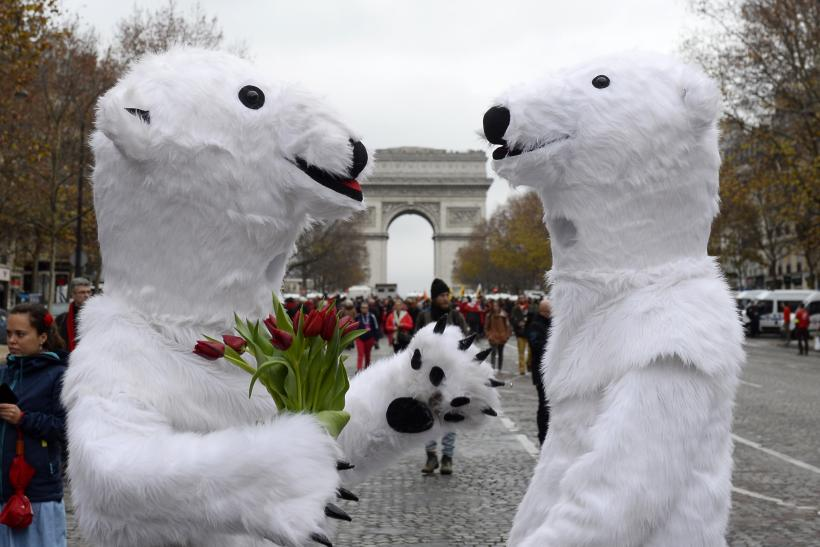 Climate Change Rally, Paris, Dec. 12, 2015
