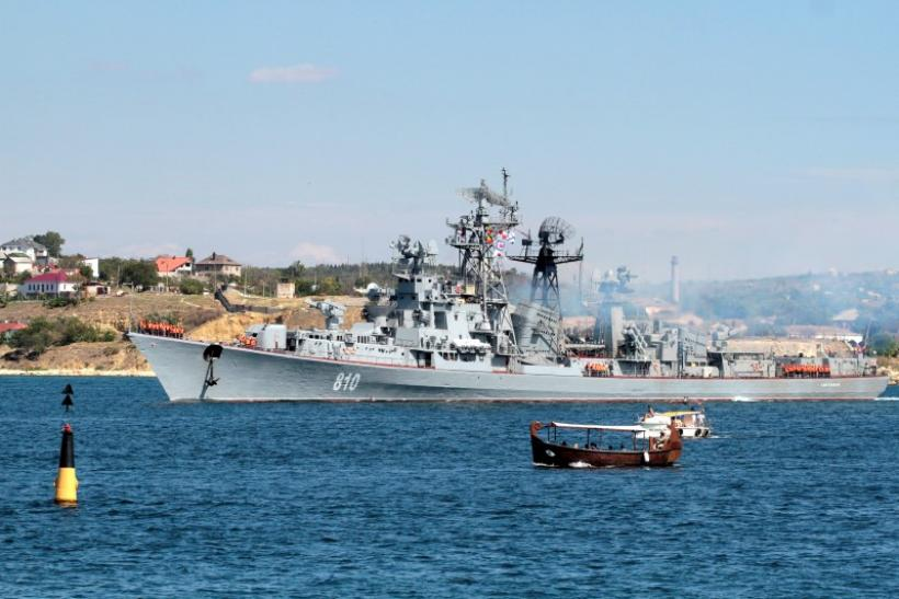 Russian Destroyer Smetlivy, Sevastopol, Sept. 12, 2013