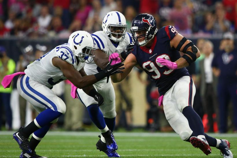 JJ Watt Colts Texans