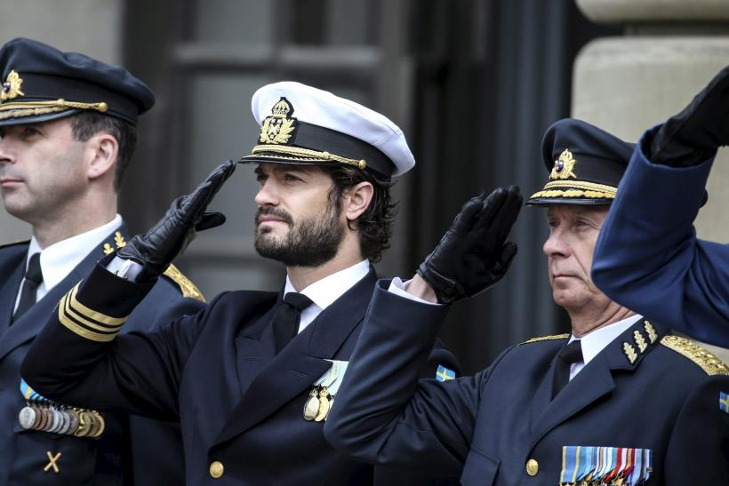 Sweden's Prince Carl Philip is dyslexic