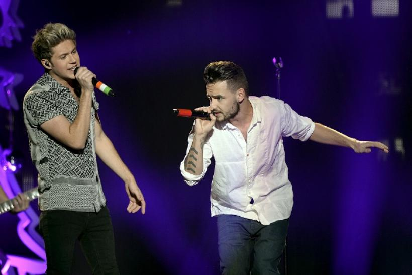 Niall Horan (L) and Liam Payne