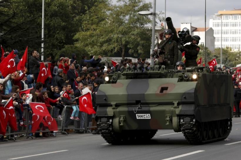 Turkish Troops, Istanbul, Oct. 29, 2015