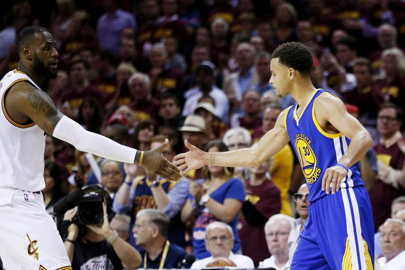 LeBron James Cavs Stephen Curry Warriors 2015