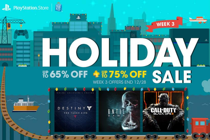PlayStation Holiday Sale