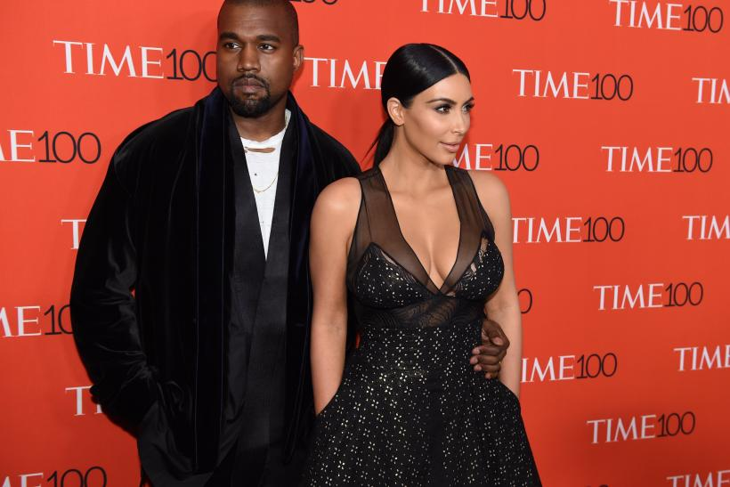 Kim Kardashian, Kanye West, Saint West photos