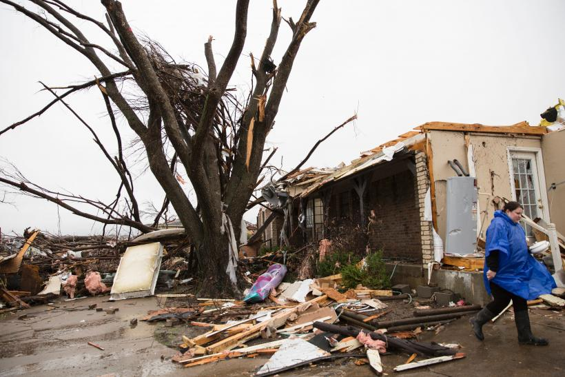 Texas storms leave at least 11 dead