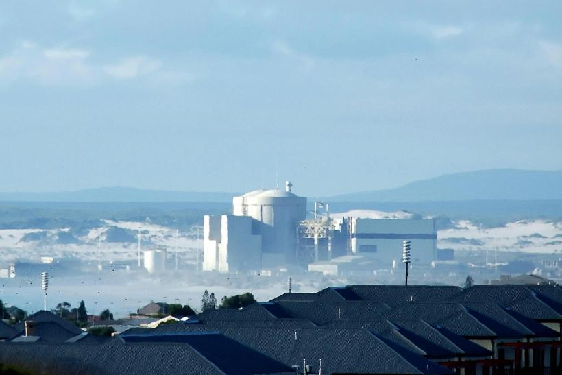 Koeberg Nuclear Power Station, Outside Cape Town, South Africa