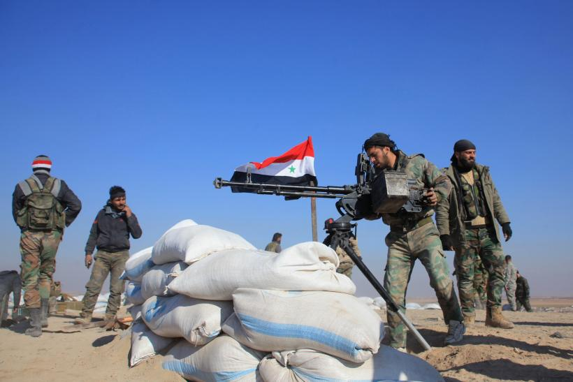 syria fighters