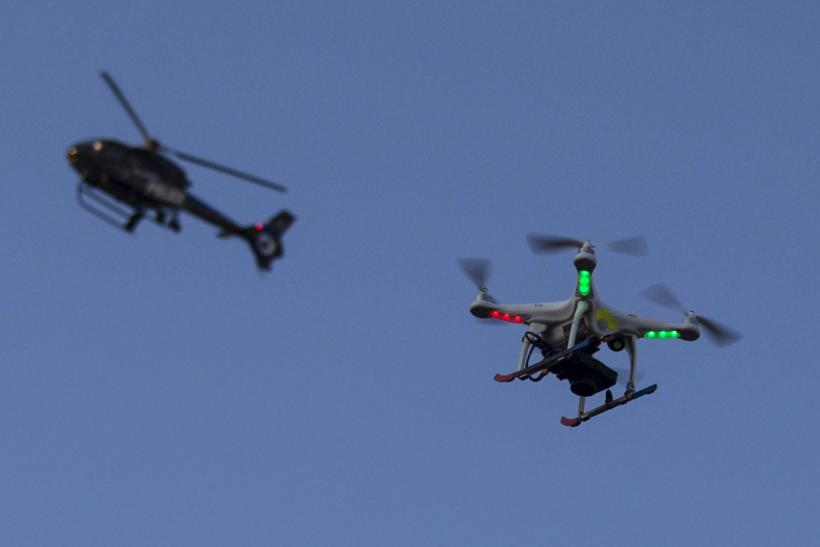 UK Police May Use Drones To Monitor Protests Siege Operations