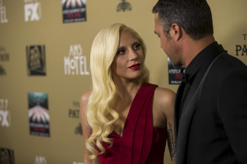 Lady Gaga and her fiance Taylor Kinney