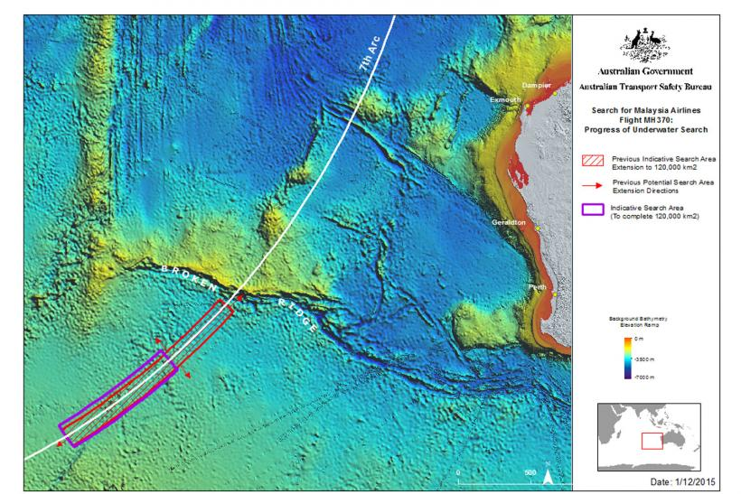 search area for mh370
