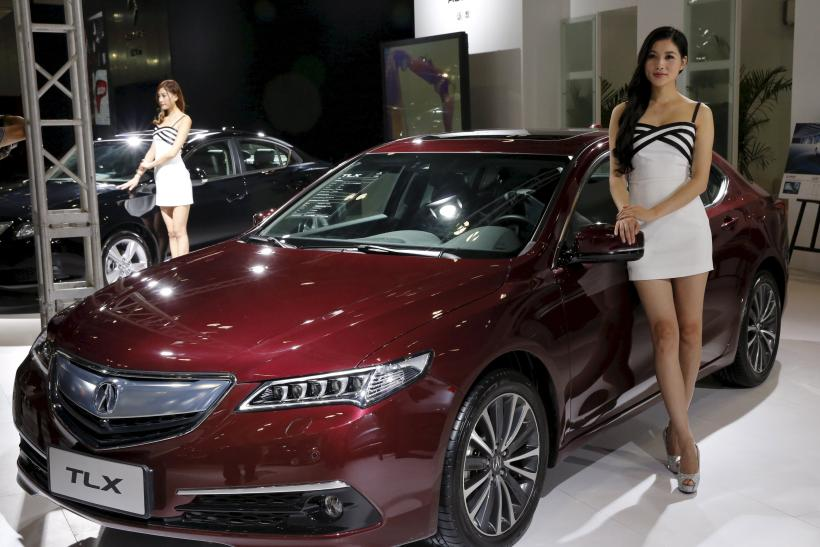 Acura TLX, Imported Auto Expo, Beijing, Sept. 24, 2015
