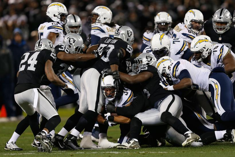 Chargers Raiders