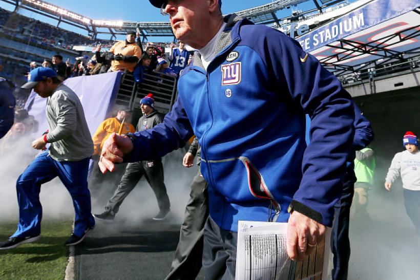 Tom Coughlin Niners interview