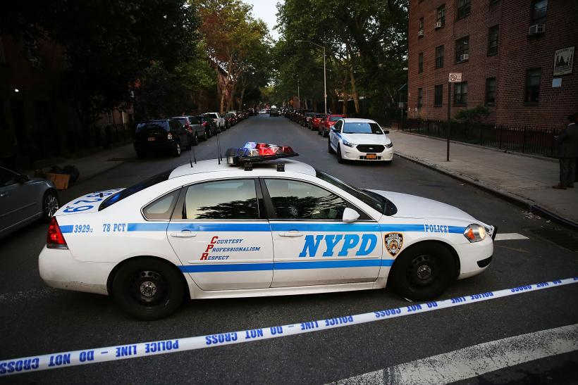 NYPD Car, June 10, 2015