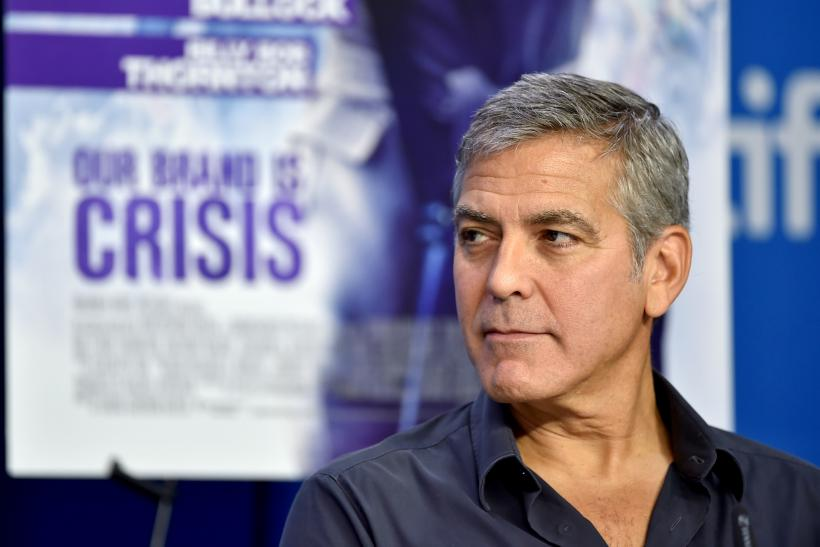 George Clooney Addresses 2016 Oscar Nominations