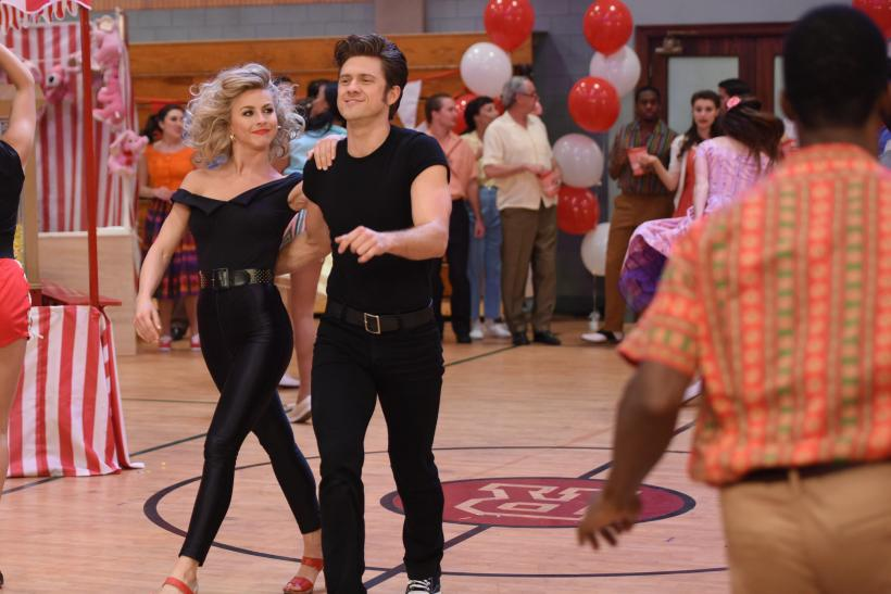 """Grease: Live"" Makes A ""Dancing With The Stars"" Jab"