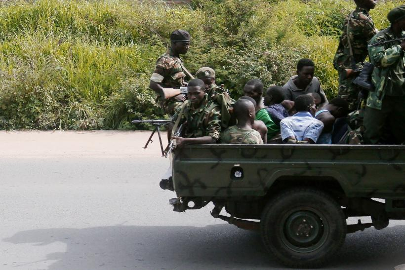 Military in Musaga, Bujumbura