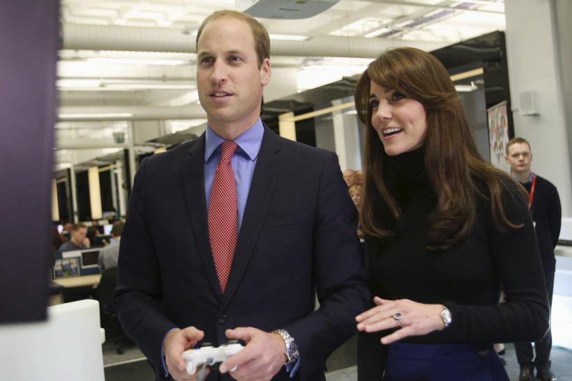 Prince William and Catherine, the Duke and Duchess of Cambridge