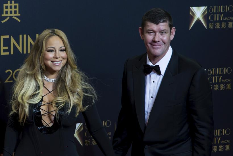Singer Mariah Carey and Australian billionaire James Packer