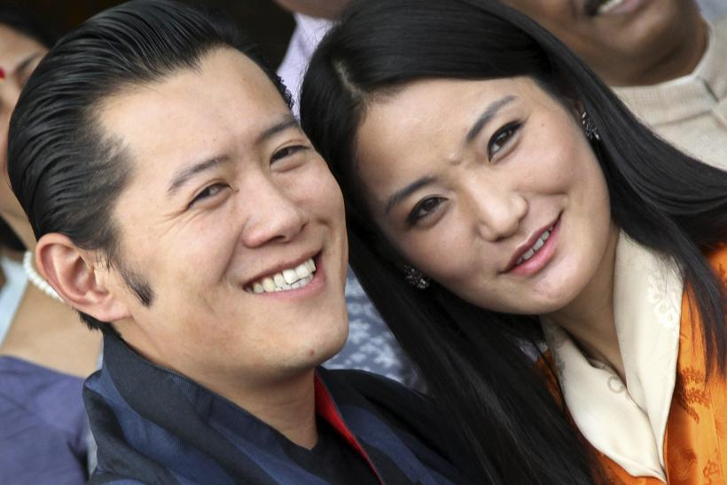Bhutan's King Jigme and Queen Jetsun introduce baby boy