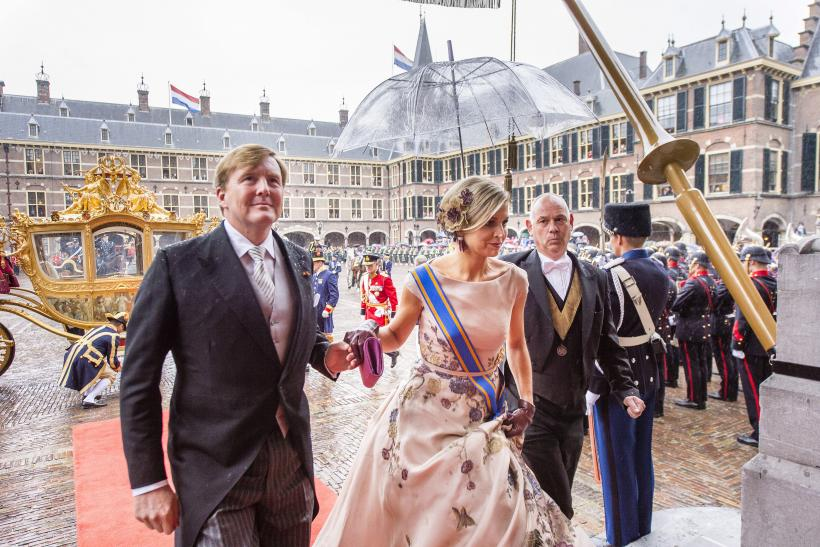 The Netherlands' King Willem-Alexander and his wife Queen Maxima