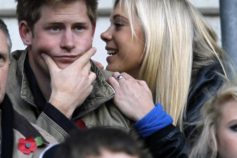 Britain's Prince Harry and Chelsy Davy