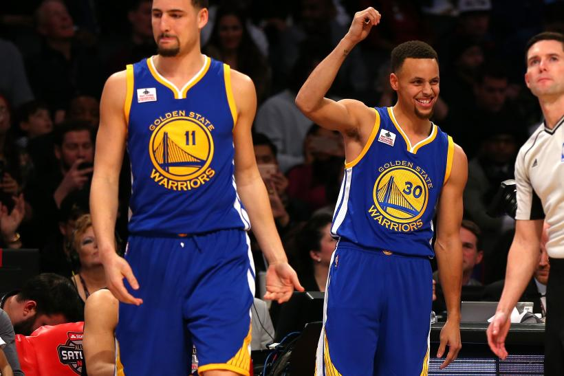 klay thompson steph curry 2016